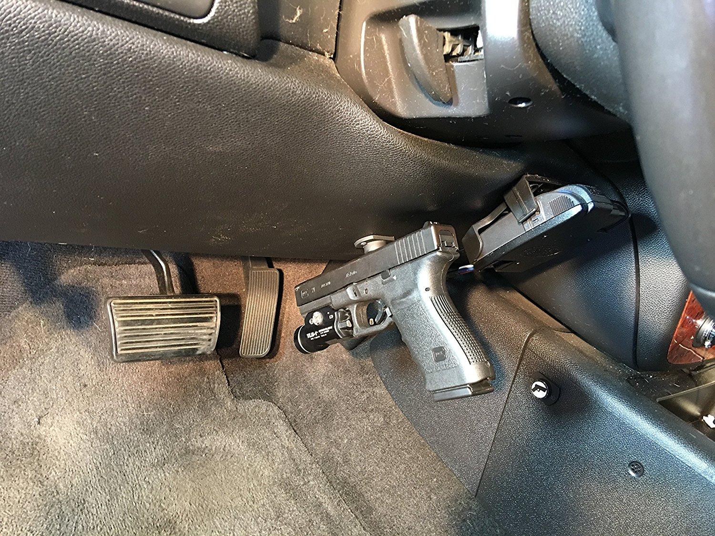 Magnet Gun Holster Mount Pistol Firearm Holder Storage Car Bedside Pack of  2
