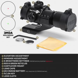 Tacticon Predator V1 Red Dot / Green Dot Sight - Product Features