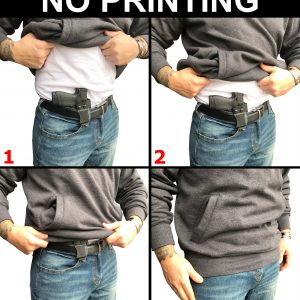 S&W M&P Shield IWB Holster No Printing