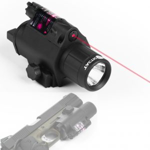 Flashlight Laser Sight Combo For Rifle or Handgun