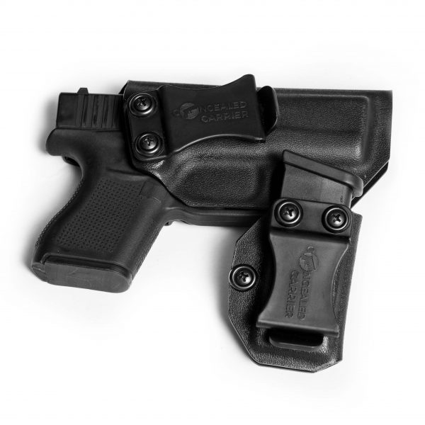 Glock 43 Holster IWB with Magazine Holster For 9mm Clip