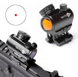 Predator V3 red dot sight mounted with AR-15
