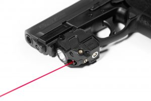Firefly V2 Pistol Red Laser Flashlight