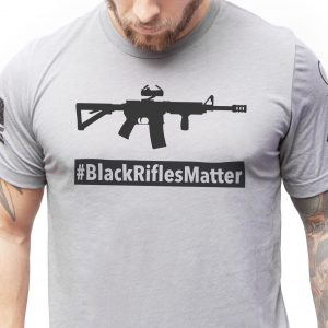 Black Rifles Matter T Shirt Tacticon