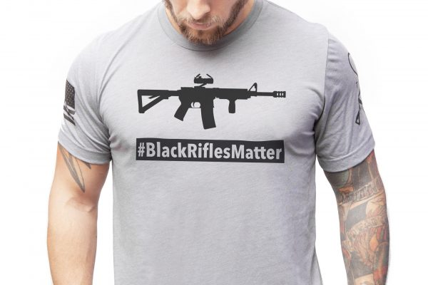 Black Rifles Matter T Shirt Tacticon