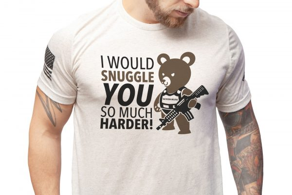 Tactical Teddy Cuddle You Harder Shirt