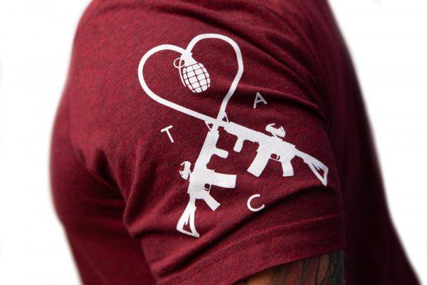 TAC Logo Sleeve Apparel TAC White