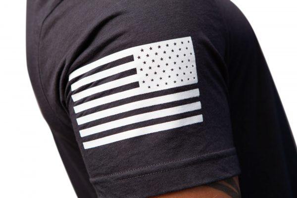 American Flag Sleeve Tacticon TAC Dark Grey
