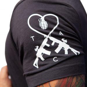 TAC Logo Tacticon Armament Logo Dark Grey
