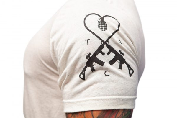 TAC Logo Oatmeal Shirt Sleeve TAC Apparel