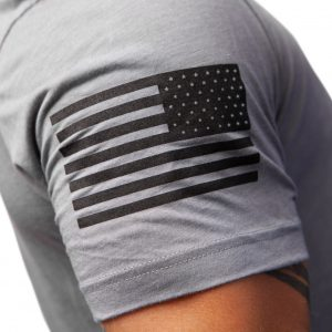American Flag Sleeve Logo TAC Apparel