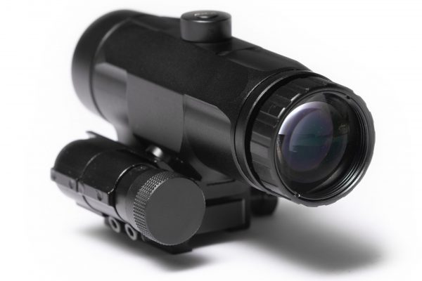 Tacticon Falcon V1 3X Red Dot Magnifier Rear View