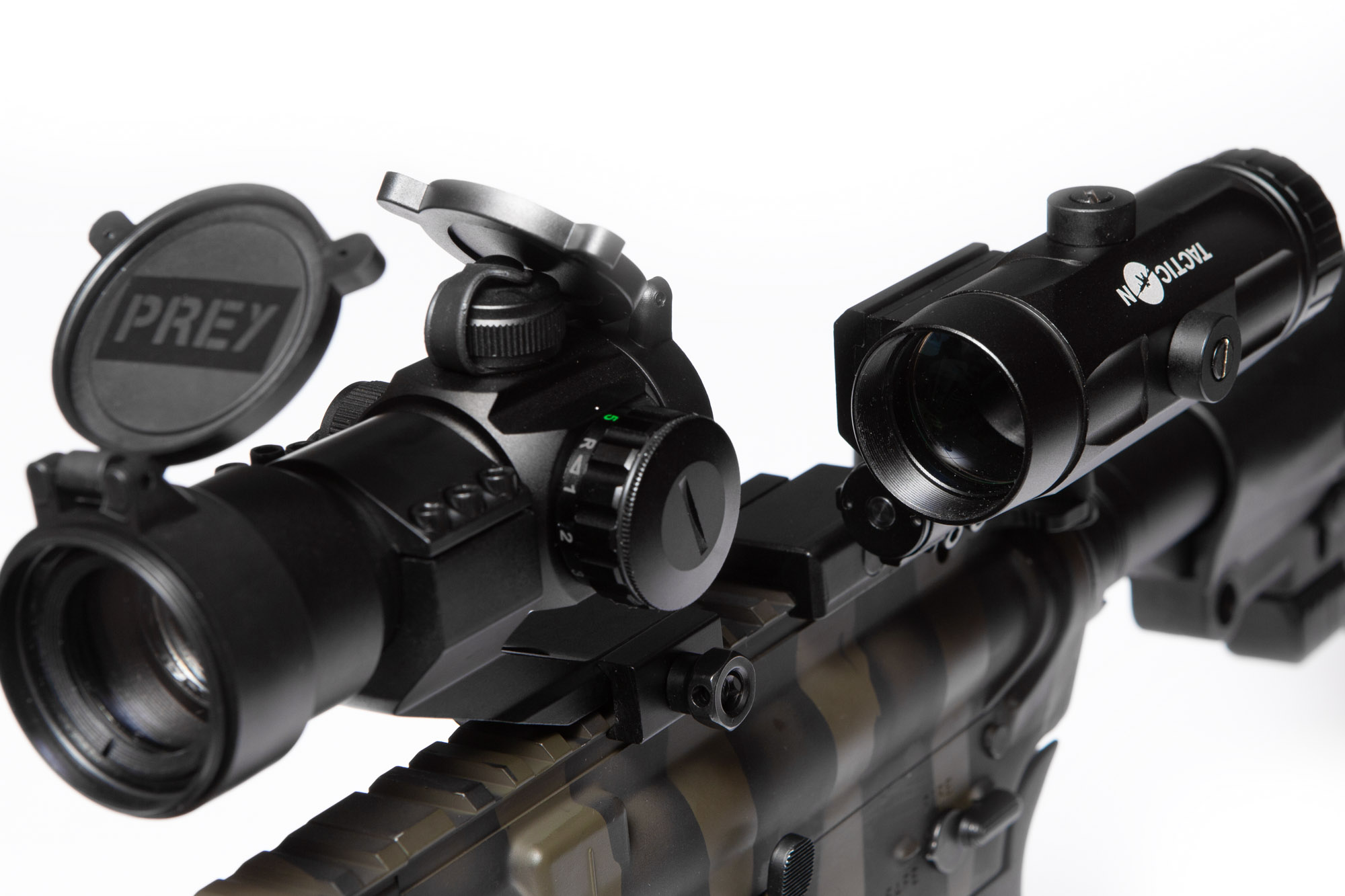 Red Dot Magnifier For Rifle Sight Falcon V1 Tacticon
