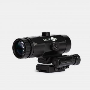 3X Red Dot Magnifier For Rifle Sight With Flip To Side Mount