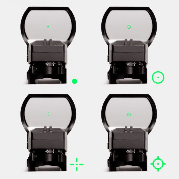 Predator V2 Reflex Sight – 4 Reticles