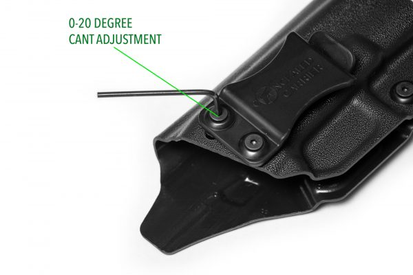 Glock 17 19 Holster Cant Adjustment