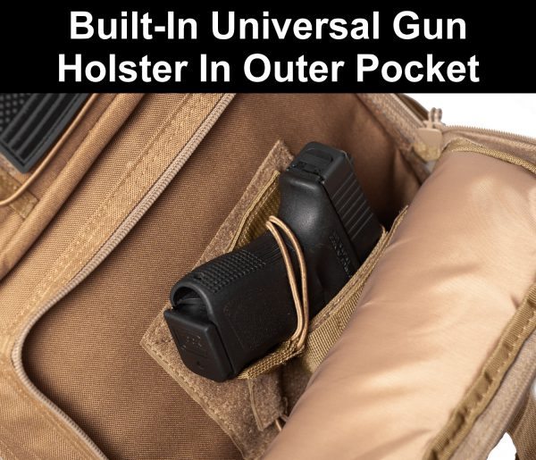 Tactical Backpack with holster