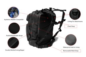 Tacticon Tactical Backpack Description