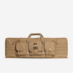 Double Rifle Bag | Rifle Case For AR15 In FDE Tan