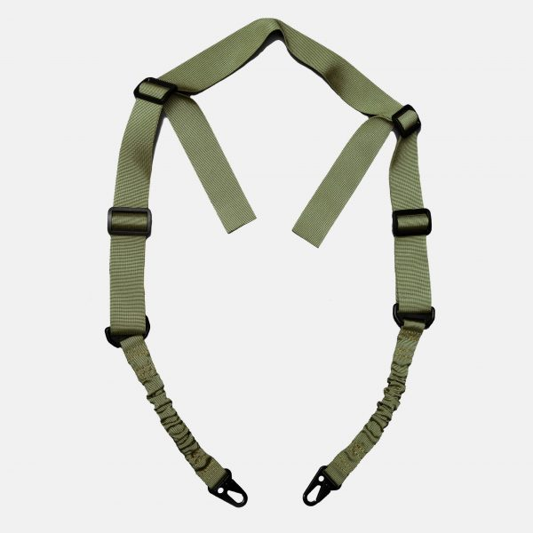 2 Point Sling in OD Green For AR15 Rifle