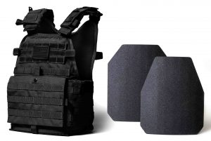 Body armor with plate carrier