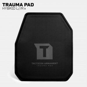 Trauma Pads for AR500 / AR600 Body Armor – Hybrid L//R Cut