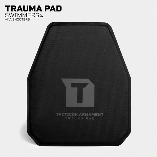 Trauma Pads for AR500 / AR600 Body Armor - Swimmers and Shooters Cut