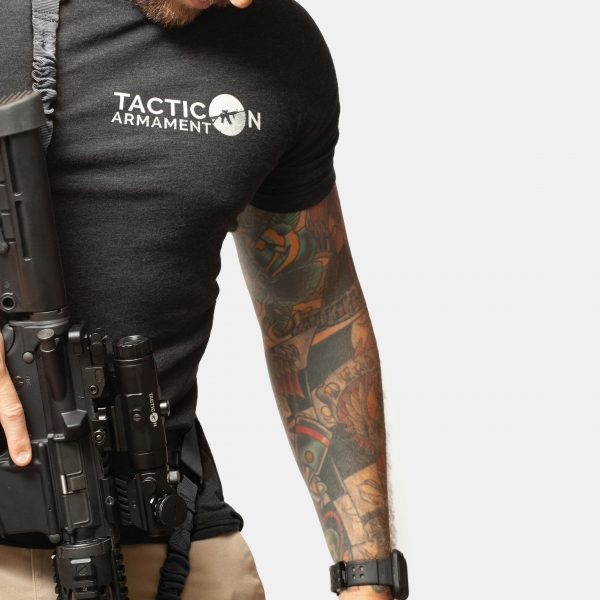 2 Point Sling in Tactical Black For AR15 Rifle