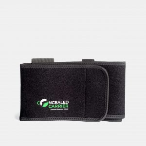 Neoprene Belly Band Holster for Concealed Carry Pistol And Mag Pouch