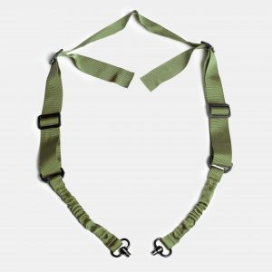 QD 2 Point Rifle Sling in OD Green For AR15 Rifle