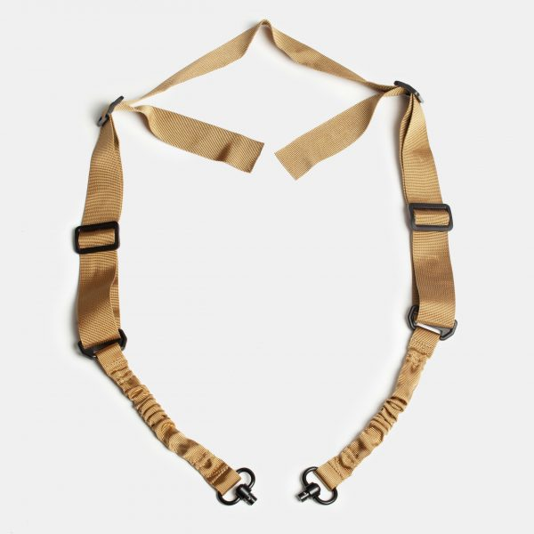 QD 2 Point Rifle Sling in FDE Tan For AR15 Rifle