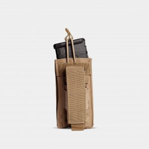 Rifle And Pistol Magazine Pouch In FDE Tan