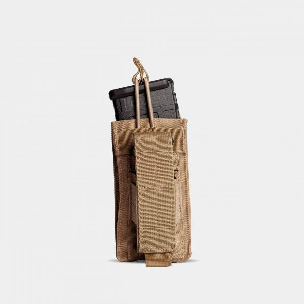 Pistol and Rifle Magazine Pouch In FDE Tan – K1
