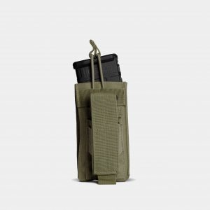 Pistol and Rifle Magazine Pouch In OD Green – K1
