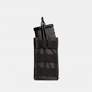 MOLLE Rifle Magazine Pouch In Tactical Black – R1