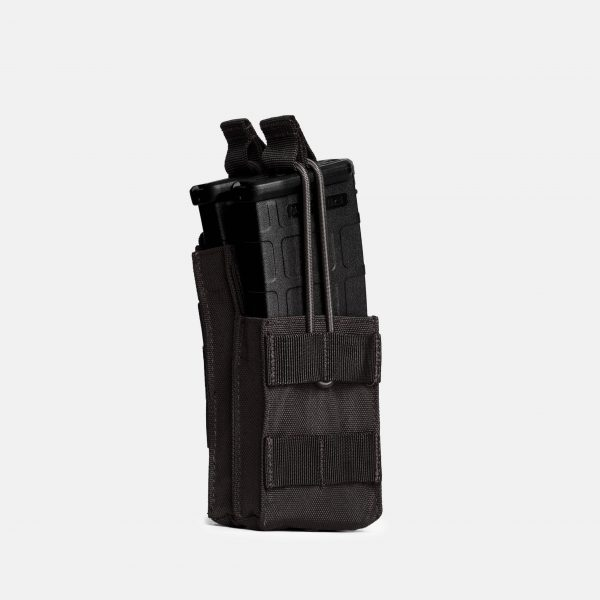 Rifle Stack Magazine Pouch In Tactical Black – R1S
