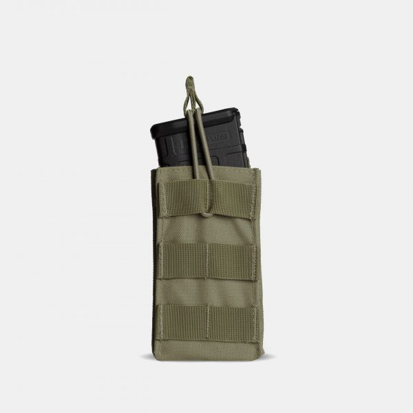 MOLLE Rifle Magazine Pouch In OD Green – R1