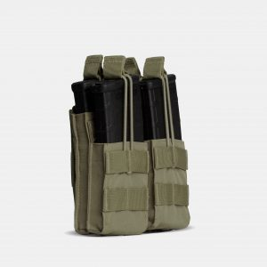 Rifle Double Stack Magazine Pouch In OD Green – R2S