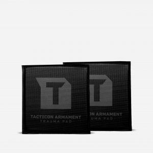 "Trauma Pads for Side Plate Body Armor – Set of 2 – 6""x6"""