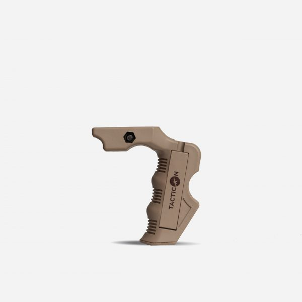 Tactical Foregrips for AR15 Picatinny Rail In FDE Tan