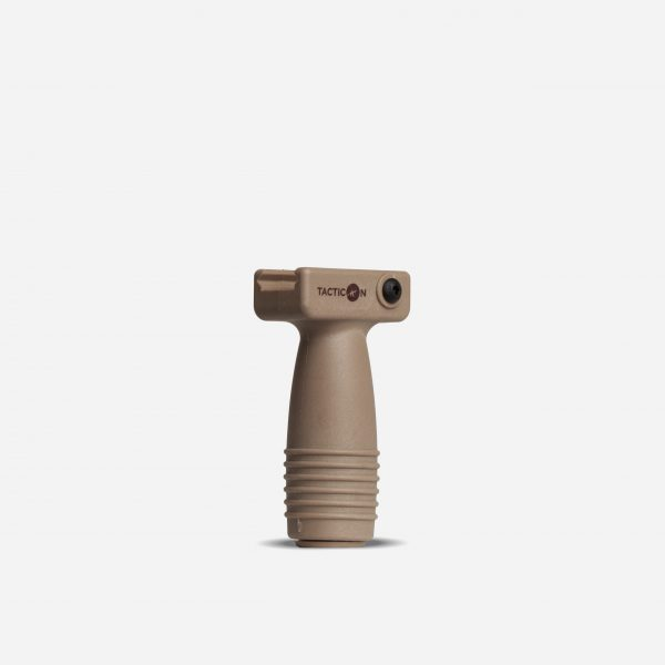 Tactical Vertical Rifle Foregrips for AR15 Picatinny Rail In FDE Tan