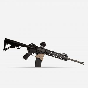 Tactical Rifle Mag Foregrips for AR15 Picatinny Rail In FDE Tan