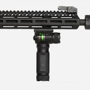 Tactical Foregrip With Red or Green Laser and tactical Light for AR15 Picatinny Rail